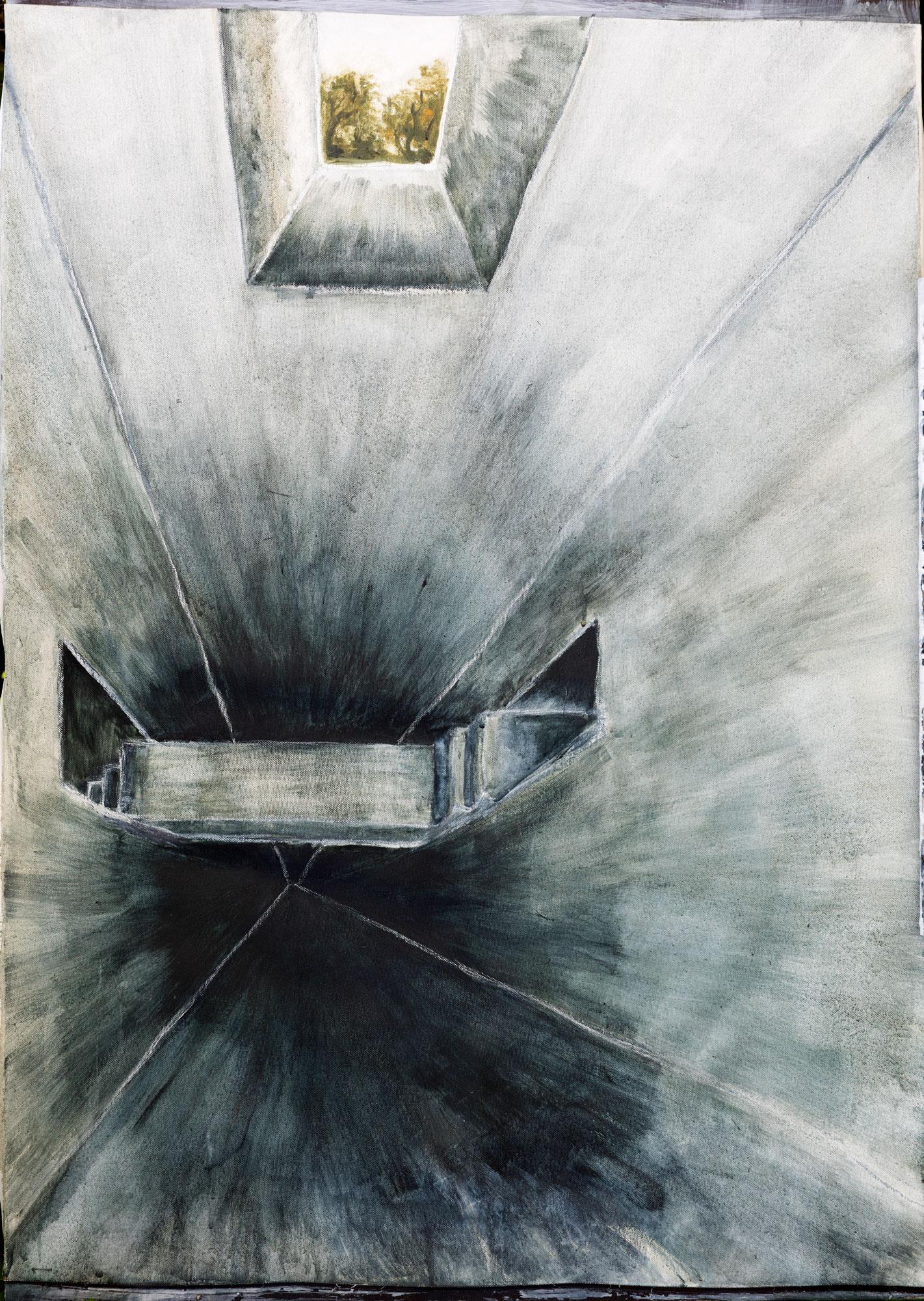 Acryl-/Ölbild